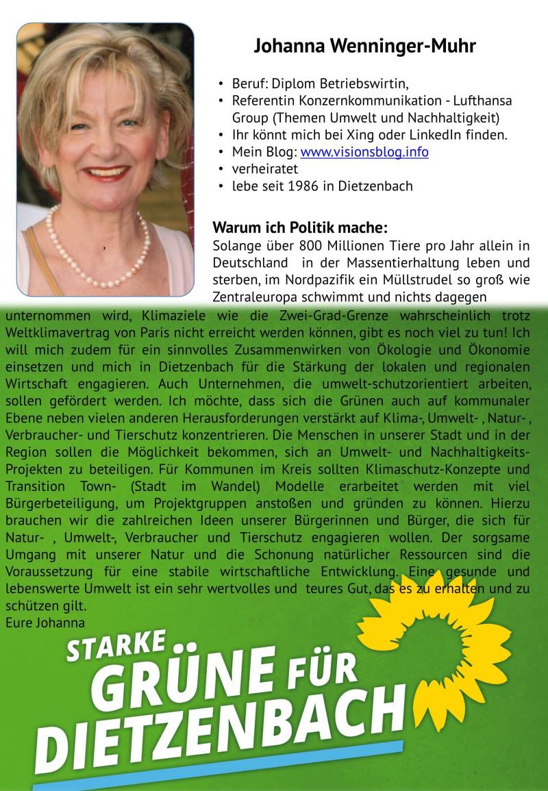 Johanna Wenninger-Muht